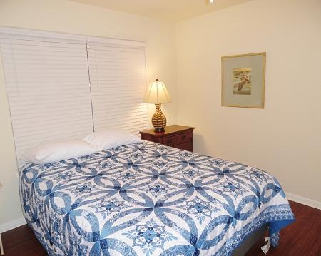 Click to enlarge image This bedroom has a closet and bathroom access - FISHERMAN'S DELIGHT - Large two bedroom cottage bungalow��with screened porch